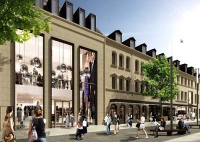 Einkaufszentrum Neue Mitte Fürth (mit 3D Planung)