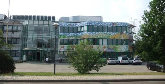 vom Bürogebäude zum Laborgebäude-Synlab
