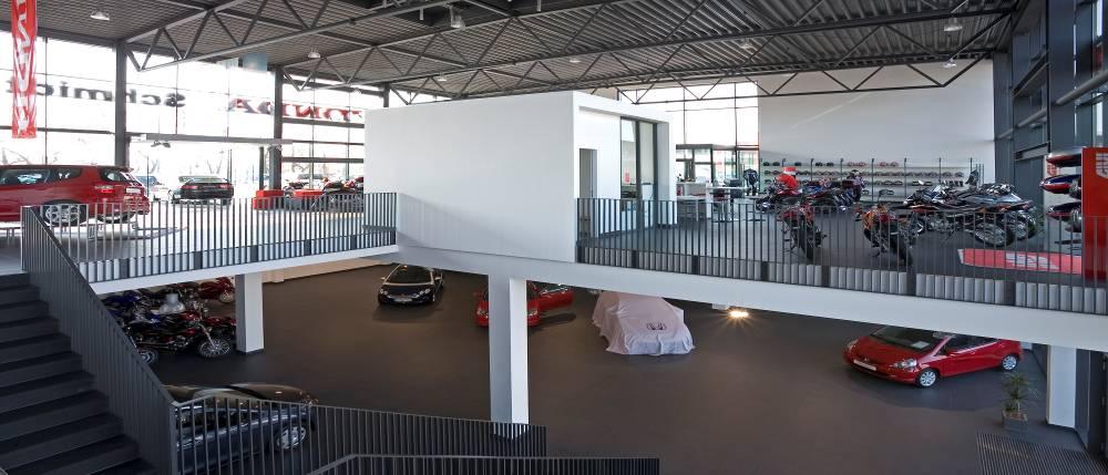 Honda Leipzig innen