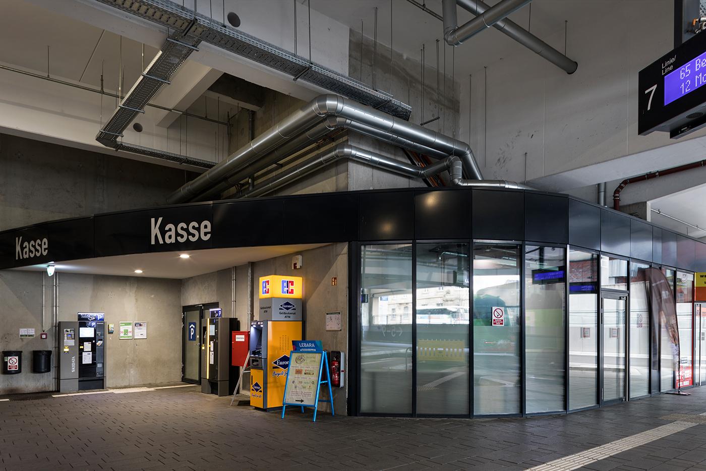 Wartebereich Fernbus Terminal