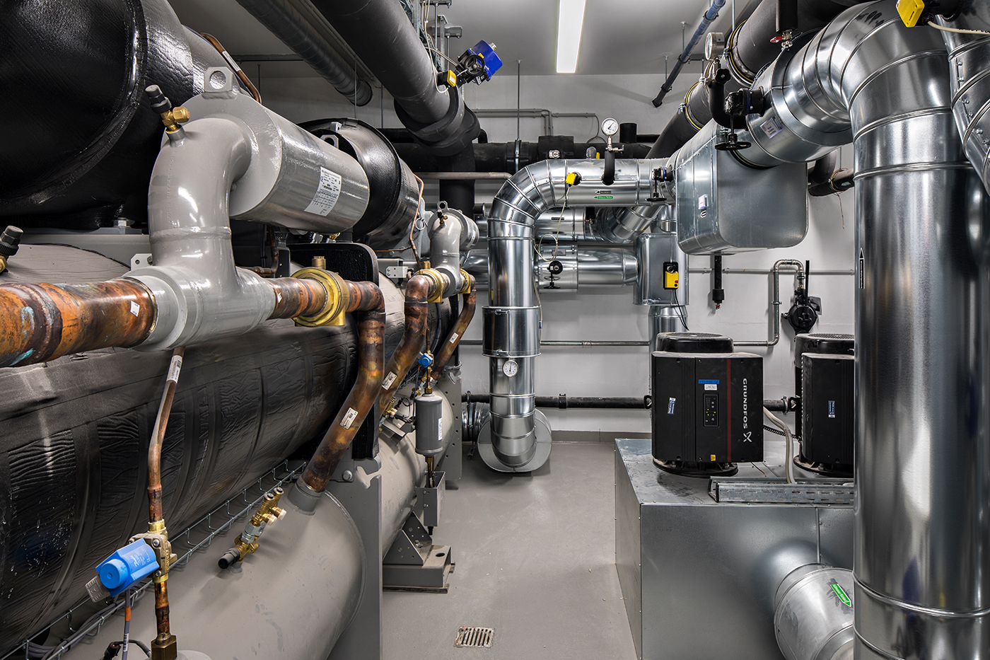 Kältezentrale - Kältemaschine ca. 1,2 MW