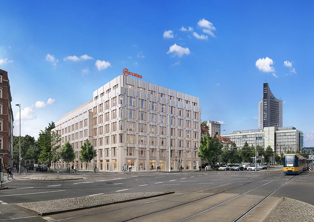 modernes Bürogebäude für Mercateo Gruppe