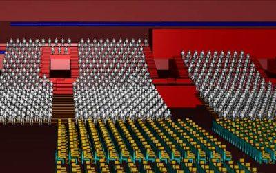 Arena Leipzig Strömungssimulation