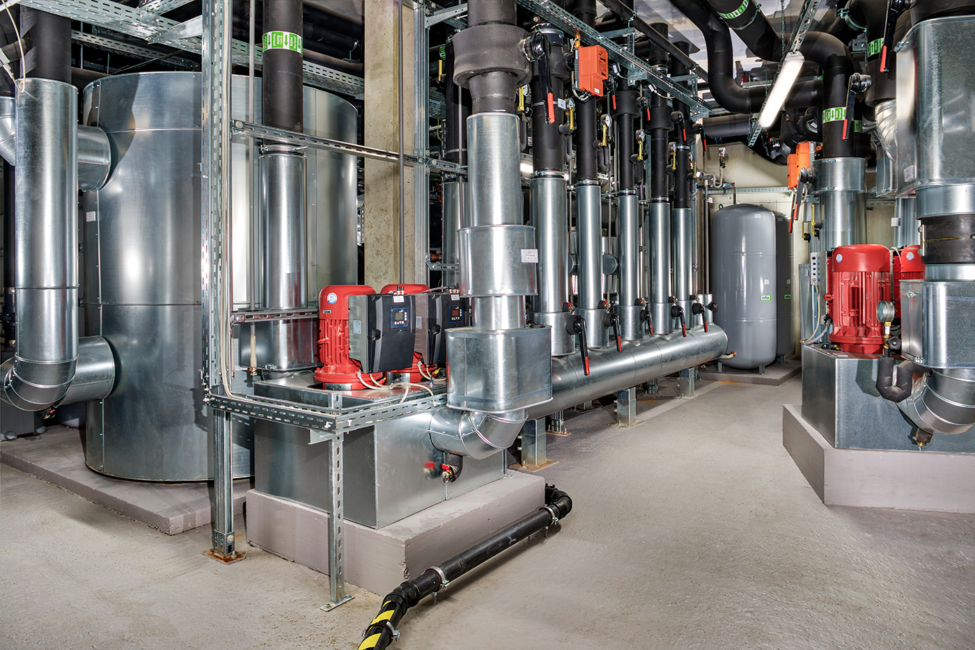 Kaltwasserverteilung BT-B
