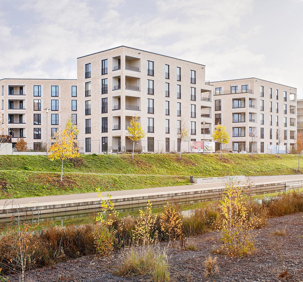 Neubau Stadtvillen Lindenauer Hafen